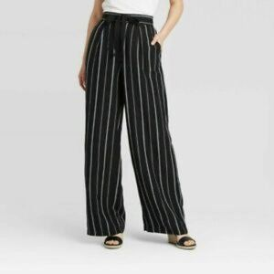A new Day Plus Size High Waist Wide Leg Pants